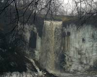 Minnehaha Falls, Late Winter