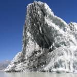 """Iceberg floating in the Tasman Glacier lake, NZ"" by upliftingphotos"