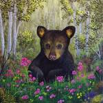 """Whimsical Bear Cub"" by rsummers"