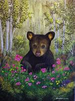 Whimsical Bear Cub
