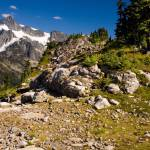 """Mount Shuksan, Shuksan Arm, and Artist Point Trail"" by ketchemr"