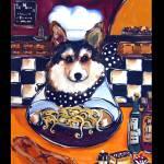 """""""Corgi Chef"""" by ArtbyJoanne"""