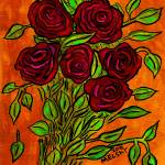 """Bright Roses"" by melsky"