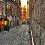 """old streets of Stockholm"" by tjomka2000"