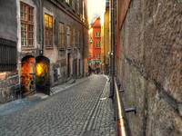 old streets of Stockholm