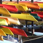 """Colourful Canoes, Toronto"" by MikeTheBigBear"