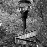 """Abercorn St_b/w"" by zephyr807"