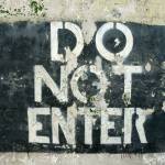 """Do Not Enter"" by tillsonburg"