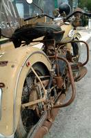old Harley Davidson motorcycle iron Greece HOG ::