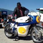 """Norton vintage motorcycle racer Karl Zach Liezen :"" by eu-moto"
