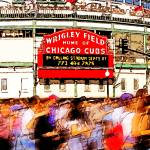 """wrigley field - home of chicago cubs"" by studiobrian"