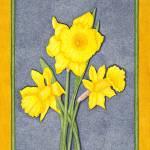 """""""Daffodil Glory"""" by ArtbyJudyNewcomb"""