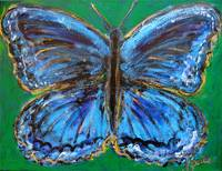 Butterfly of Blueness
