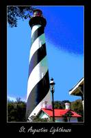 St. Augustine Lighthouse artistic