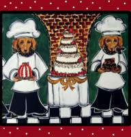 Two Doxie Cake Chef