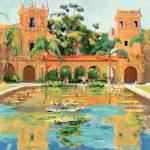 """Two Towers in Balboa Park by RD Riccoboni"" by BeaconArtWorksCorporation"