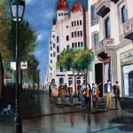 """Barcelona Paseo de Gracia"" by LauraCKramis"