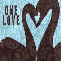 ONE LOVE - TWO SWAN SILHOUETTE