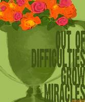 ROSES IN GREEN TROPHY - OUT OF DIFFICULTIES GROW M