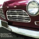 """RUBY RED 1965 - CLASSIC & BELOVED VINTAGE CAR"" by lisaweedn"