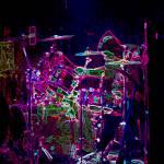 """Laser Drummer"" by mfmarsphoto"