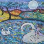 """My Swan Dreams"" by juliryan"