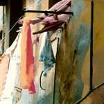 """ITALIAN LAUNDRY - STREET ART - NUDE"" by lisaweedn"