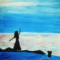 Dancing ballerina Art Prints & Posters by Neetika Bansal