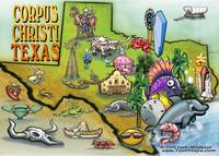 Corpus Christi TEXAS Map copy