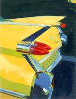 Yellow-Fin,Cadillac Riccoboni Automotive Art
