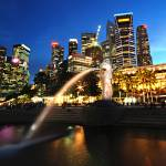 """Singapore - Merlion Park"" by hockhow"