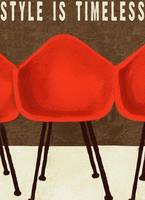 STYLE IS TIMELESS - MID CENTURY EAMES CHAIRS