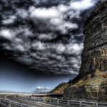 """Sea Cliff Bridge HDR 2"" by alexkess"