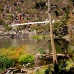 """The Swinging  Bridge-The First  Basin -Launceston-"" by RitchardMifsud"