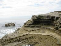 Point Loma Tide Pools cliffs