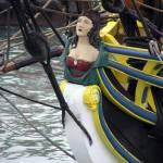 """Figure Tallship Head of Lady Washington"" by zmenow"