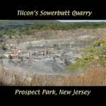 """Prospect Park Quarry w/TXT 2"" by budvg"