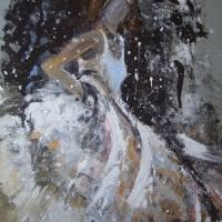 Winter Wedding Art Prints & Posters by Ros Webb