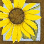 """Wee Sunflower"" by ArtbyJudyNewcomb"