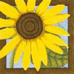 """Wee Sunflower 2"" by ArtbyJudyNewcomb"