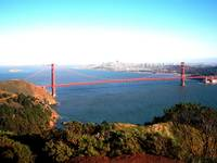 Headlands, view of golden gate bridge