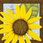 """Wee Sunflower 3"" by ArtbyJudyNewcomb"