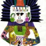 """""""Aztec Sun God"""" by MPMPatrick"""