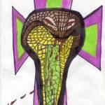 """Cobra with Cross"" by MPMPatrick"