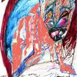 """dog beast flourescent"" by MPMPatrick"