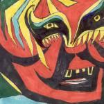 """""""Red Mask"""" by MPMPatrick"""