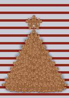Gingerbread X-Mas tree