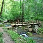 """Roaring Run Creek Bridge"" by Lorraine_Sommer"