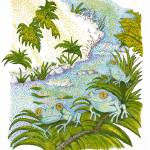 """""""Daytime Frogs"""" by ArtbyJudyNewcomb"""