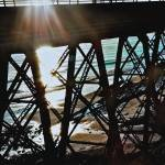 """Railway Bridge near Santa Barbara"" by MelanieDoty"
